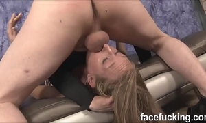 (exclusive) skye avery third time doing the nastier facefucking and some anal