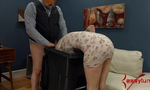 Goth BBC slut acquires anal torment and facefucking in the garbage