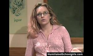 Teacher seducing student
