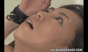 Asian playgirl bond and fuckd by a fucking machine
